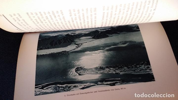 Libros antiguos: Walter MITTELHOLZER, Expedición aerea al ARTICO, 1925, MUY RARO, Amundsen - Foto 5 - 163339238