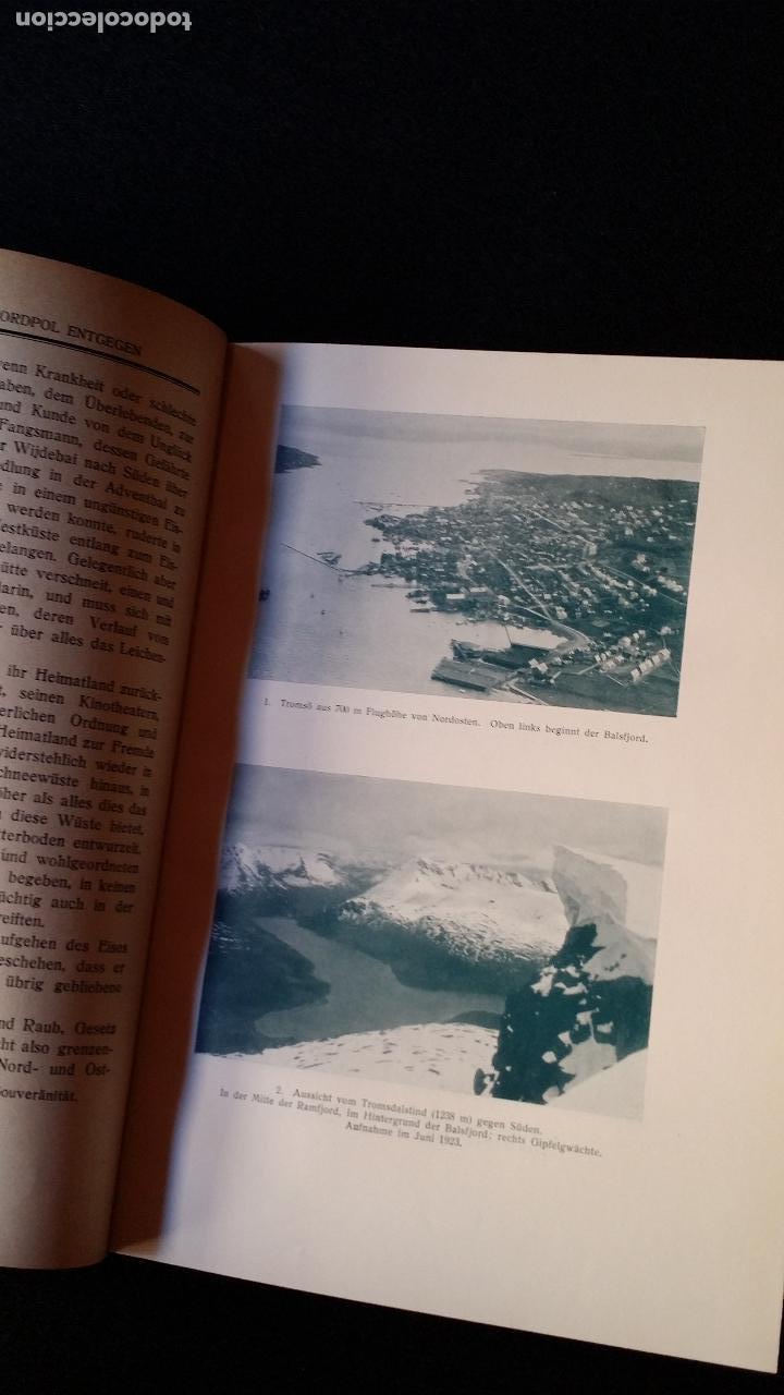 Libros antiguos: Walter MITTELHOLZER, Expedición aerea al ARTICO, 1925, MUY RARO, Amundsen - Foto 6 - 163339238