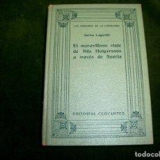 Libros antiguos: SELMA LAGERLOF - EL MARAVILLOSO VIAJE DE NILS HOLGERSSON A TRAVES DE SUECIA - 1926. LT2. Lote 163344930