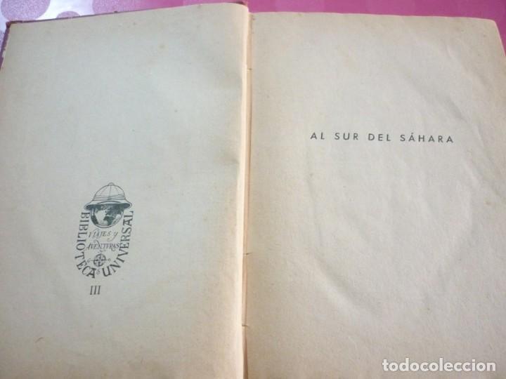 Libros antiguos: AL SUR DEL SAHARA. ATTILIO GATTI - Foto 3 - 163599442