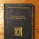 Libros antiguos: GUIAS ARTISTICAS DE ESPAÑA--19TARRAGONA Y SU PROVINCIA(12€). Lote 164622870