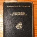 Libros antiguos: GUIAS ARTISTICAS DE ESPAÑA--31SANTANDER Y SU PROVINCIA (12€). Lote 164623006