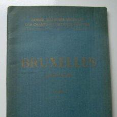 Libros antiguos: GUIA TURÍSTICA MICHELIN. BRUXELLES Y LOUVAIN, BRUSELAS Y LOVAINA. AÑO 1921. Lote 164845506