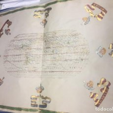Libros antiguos: ATLAS DE JOAN MARTINES (COSMÓGRAFO DE FELIPE II,SIGLO XVI), 80X58CMS.. Lote 165162114