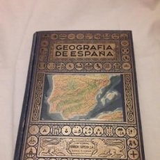 Libros antiguos: LIBRO GEOGRAFÍA DE ESPAÑA EDITORIAL RAMÓN SOPENA BARCELONA AÑO 1943. Lote 165503858