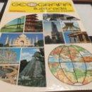 Libros antiguos: GEOGRAFÍA ILUSTRADA DE NUESTRO MUNDO - ATLAS SOPENA 1989. Lote 165748258