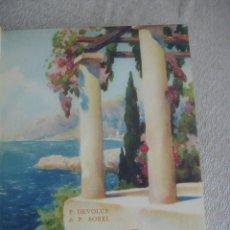Libros antiguos: AU GAI ROYAUME DE L'AZUR 1929. Lote 166058530