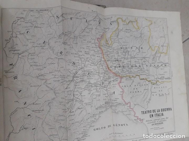 EL ALBUM DE LAS FAMILIAS AÑOS 1859 1860 1861 GRABADOS Y MAPAS BUEN ESTADO (Libros Antiguos, Raros y Curiosos - Geografía y Viajes)