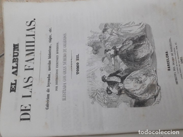 Libros antiguos: EL ALBUM DE LAS FAMILIAS AÑOS 1859 1860 1861 GRABADOS Y MAPAS BUEN ESTADO - Foto 2 - 166624558