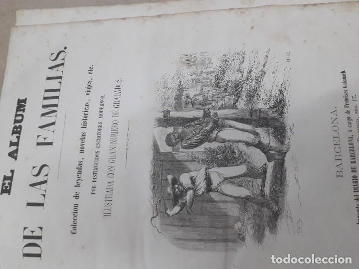 Libros antiguos: EL ALBUM DE LAS FAMILIAS AÑOS 1859 1860 1861 GRABADOS Y MAPAS BUEN ESTADO - Foto 5 - 166624558