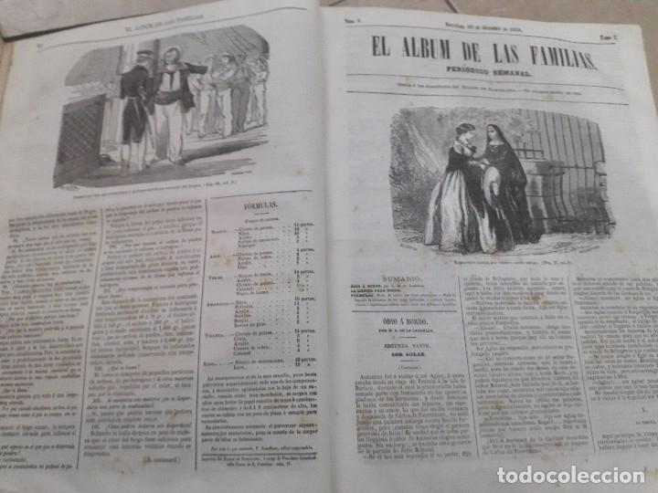Libros antiguos: EL ALBUM DE LAS FAMILIAS AÑOS 1859 1860 1861 GRABADOS Y MAPAS BUEN ESTADO - Foto 6 - 166624558