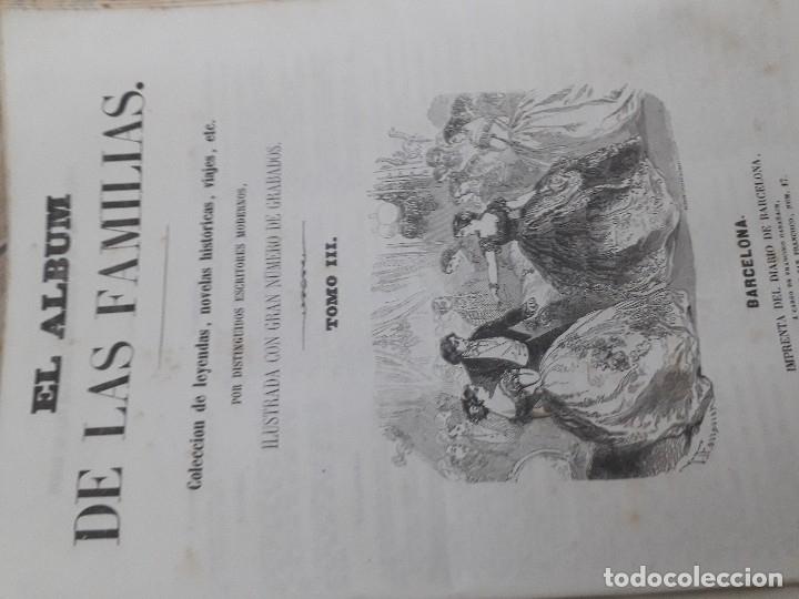 Libros antiguos: EL ALBUM DE LAS FAMILIAS AÑOS 1859 1860 1861 GRABADOS Y MAPAS BUEN ESTADO - Foto 10 - 166624558
