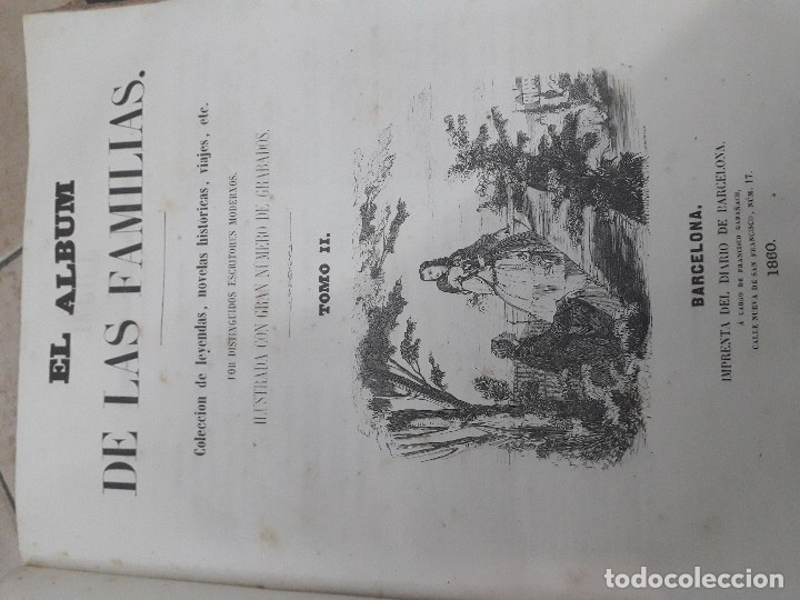 Libros antiguos: EL ALBUM DE LAS FAMILIAS AÑOS 1859 1860 1861 GRABADOS Y MAPAS BUEN ESTADO - Foto 11 - 166624558