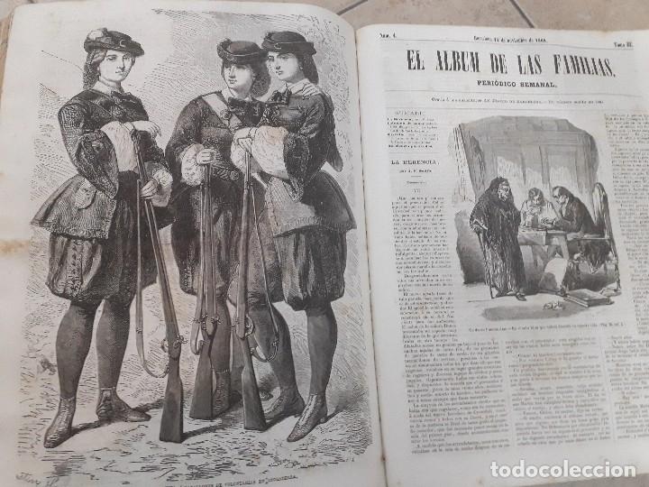 Libros antiguos: EL ALBUM DE LAS FAMILIAS AÑOS 1859 1860 1861 GRABADOS Y MAPAS BUEN ESTADO - Foto 12 - 166624558