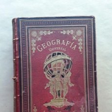 Libros antiguos: NUEVA GEOGRAFIA UNIVERSAL,M.L.GREGOIRE,1884(VER FOTOS). Lote 167547528