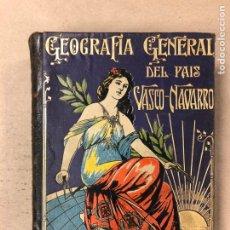 Libros antiguos: GEOGRAFÍA GENERAL DEL PAÍS VASCO-NAVARRO. TOMO 1: PROVINCIA DE GUIPÚZCOA POR SERAPIO MÚGICA. ED. ALB. Lote 167786806