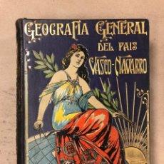 Libros antiguos: GEOGRAFÍA GENERAL DEL PAÍS VASCO-NAVARRO. TOMO 2: PROVINCIA DE NAVARRA POR JULIO ALTADILL. Lote 167788618