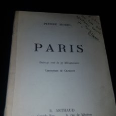 Libros antiguos: PARIS - PIERRE MOREL. Lote 167922160