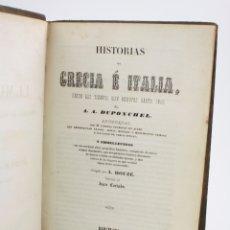 Alte Bücher - Historias de Grecia e Italia desde los tiempos más remotos hasta 1840, Duponchel, 1844, Tomo 3. - 168057224