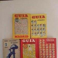 Libros antiguos: LOTE DE ANTIGUOS CALLEJEROS DE MADRID Y VALENCIA. Lote 168058664
