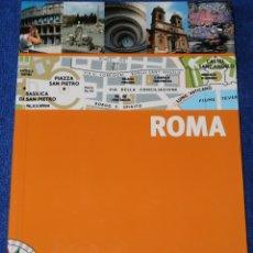 Libros antiguos: ROMA - PLANO GUÍA - SIN FRONTERAS (2008). Lote 168317976