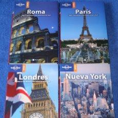 Libros antiguos: ROMA - PARIS - LONDRES - NUEVA YORK - LONELY PLANET (2005). Lote 168318044