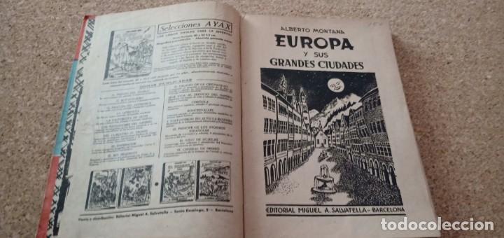 Libros antiguos: Europa y sus grandes ciudades - Foto 3 - 168566348