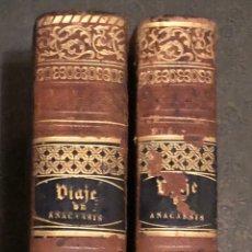 Libros antiguos: L- COMPENDIO DEL VIAJE DEL JOVEN ANACARSIS A LA GRECIA. 1830/1831. Lote 168965236
