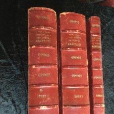 Libros antiguos: VIAJE A ORIENTE DE LA FRAGATA DE GUERRA ARAPILES Y DE LA COMISION CIENTIFICA - 3 VOL. - COMPLETA - . Lote 169156624
