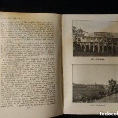 Libros antiguos: GUÍA DE GALICIA. RAMÓN OTERO 1926 FOTOGRAFIAS, PLANOS, ETC. 468 PÁGINAS.. Lote 169198096