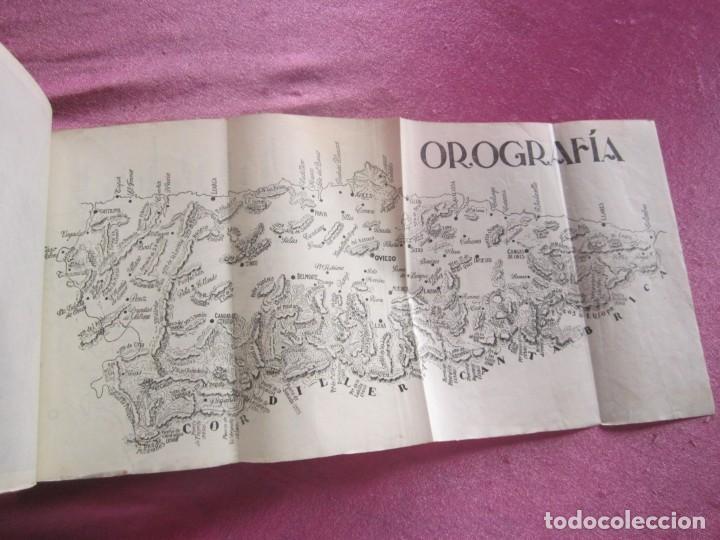 Libros antiguos: GUIA ASTURIAS DIVULGACIONES GEOGRAFICO HISTORICAS MUÑIZ VIGO AÑO 1929. - Foto 6 - 169284588
