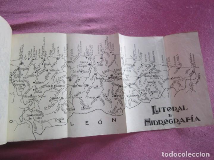 Libros antiguos: GUIA ASTURIAS DIVULGACIONES GEOGRAFICO HISTORICAS MUÑIZ VIGO AÑO 1929. - Foto 7 - 169284588