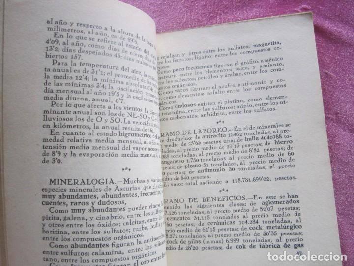 Libros antiguos: GUIA ASTURIAS DIVULGACIONES GEOGRAFICO HISTORICAS MUÑIZ VIGO AÑO 1929. - Foto 12 - 169284588