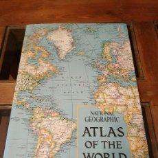 Libros antiguos: GRAN ATLAS NATIONAL GEOGRAPHIC USA 1975. EN INGLES. Lote 169882628