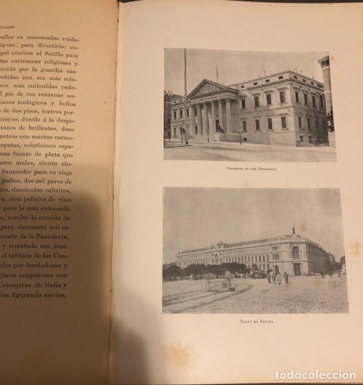 Libros antiguos: L- Las grandes ciudades. Roma-Madrid-Lisboa-Atenas-Tokio. Pedro Umpert. 1909 - Foto 7 - 170352541