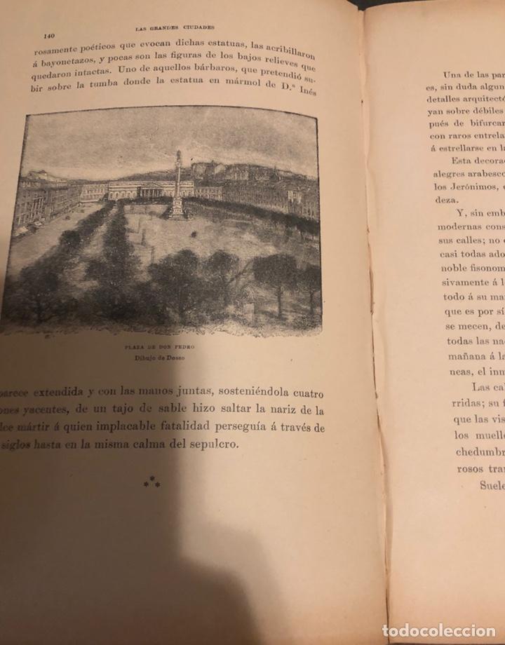 Libros antiguos: L- Las grandes ciudades. Roma-Madrid-Lisboa-Atenas-Tokio. Pedro Umpert. 1909 - Foto 8 - 170352541