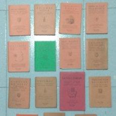 Libros antiguos: LOTE DE 15 GUIAS CARTOGRAFICAS. Lote 170983032
