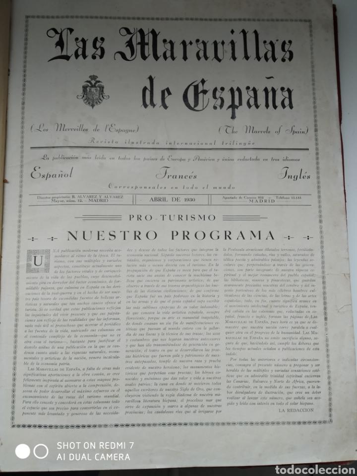 Libros antiguos: Revista las maravillas de España las Canarias Baleares y Norte de África 1930 - Foto 2 - 171015639