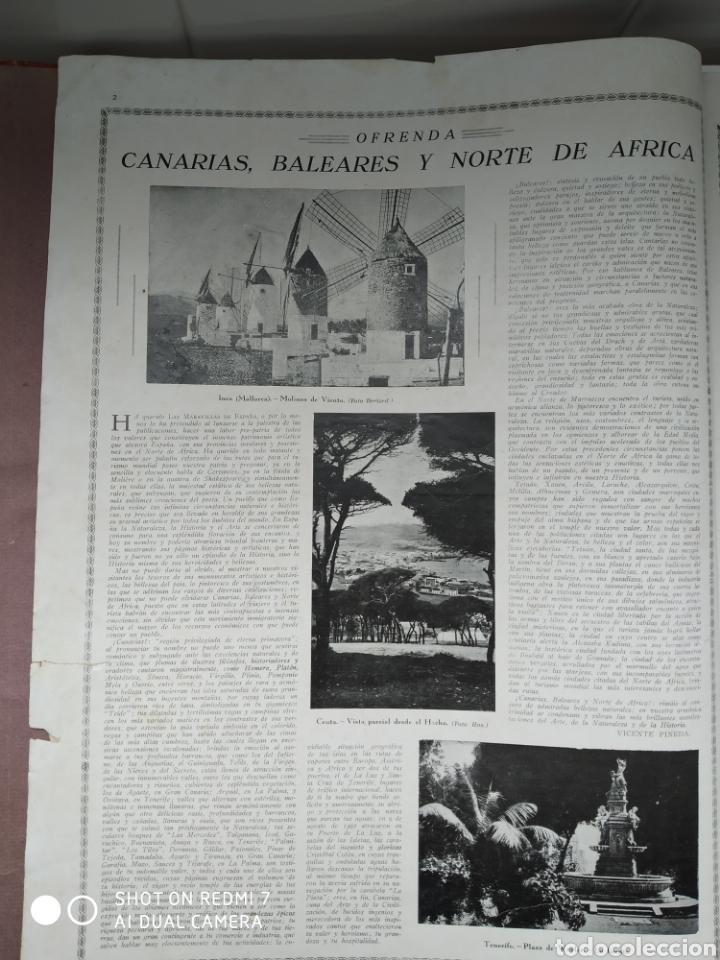 Libros antiguos: Revista las maravillas de España las Canarias Baleares y Norte de África 1930 - Foto 3 - 171015639