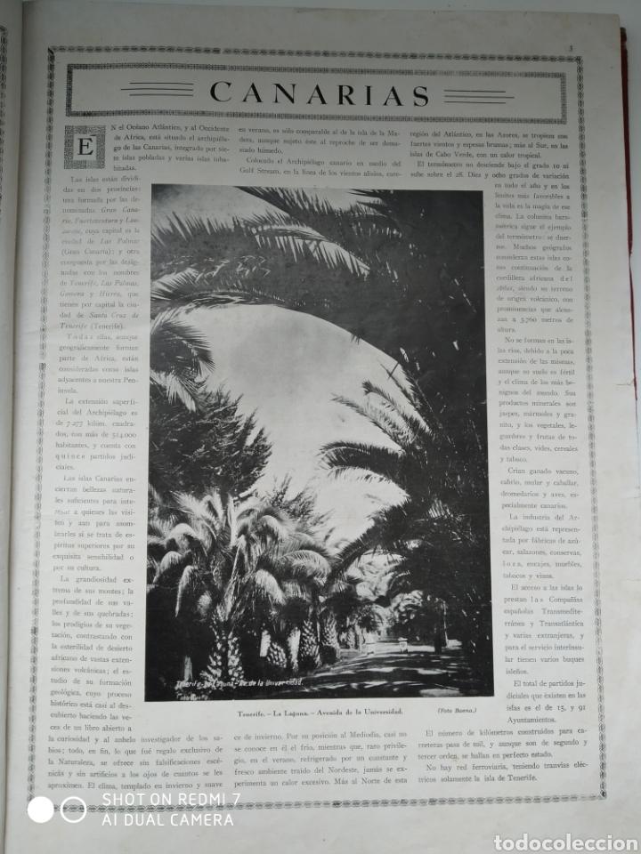 Libros antiguos: Revista las maravillas de España las Canarias Baleares y Norte de África 1930 - Foto 4 - 171015639