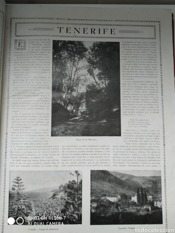 Libros antiguos: Revista las maravillas de España las Canarias Baleares y Norte de África 1930 - Foto 5 - 171015639