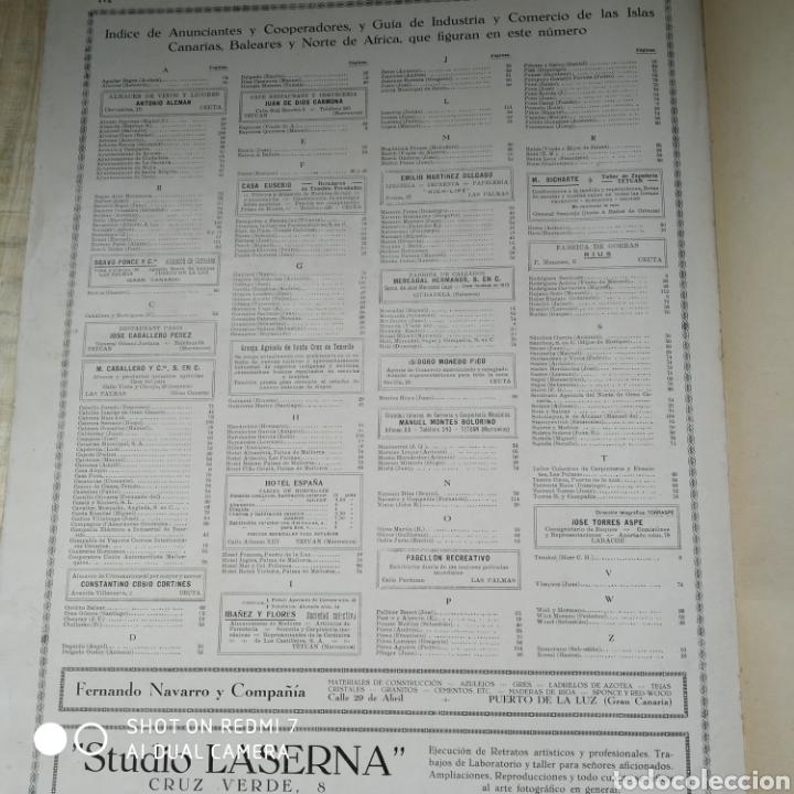 Libros antiguos: Revista las maravillas de España las Canarias Baleares y Norte de África 1930 - Foto 35 - 171015639