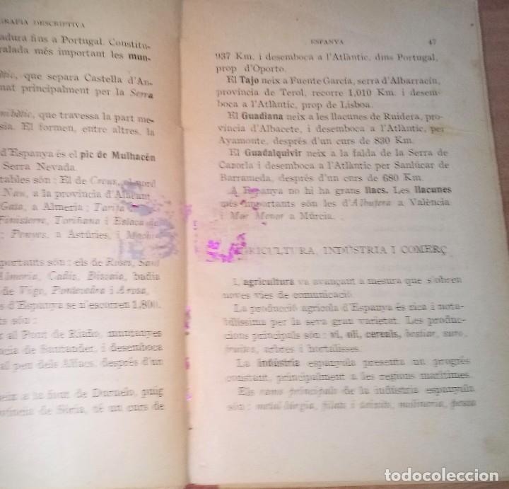 Libros antiguos: GEOGRAFIA ELEMENTAL PER A LES ESCOLES DE CATALUNYA - 1932 - Foto 2 - 171798543