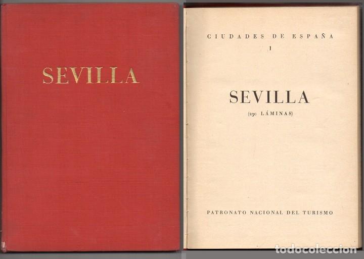 CIUDADES DE ESPAÑA I - SEVILLA - A-LSEV-1629 (Libros Antiguos, Raros y Curiosos - Geografía y Viajes)