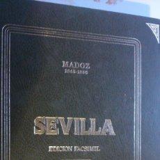 Livres anciens: SEVILLA DE MADOZ, 1988. EDI UNIDAS ANDALUZAS AMBITO. ES FACSIMIL. Lote 173250324