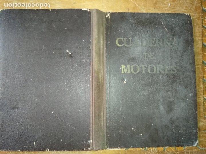 Libros antiguos: cuaderno de maquinas buque a motor darro y turia apuntes anotaciones travesias 1947 1948 - Foto 9 - 171502229