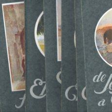 Libros antiguos: VIAJES A TIERRA SANTA - 7 TOMOS - BÍBLIA DE MONTSERRAT, 1928. Lote 173525023
