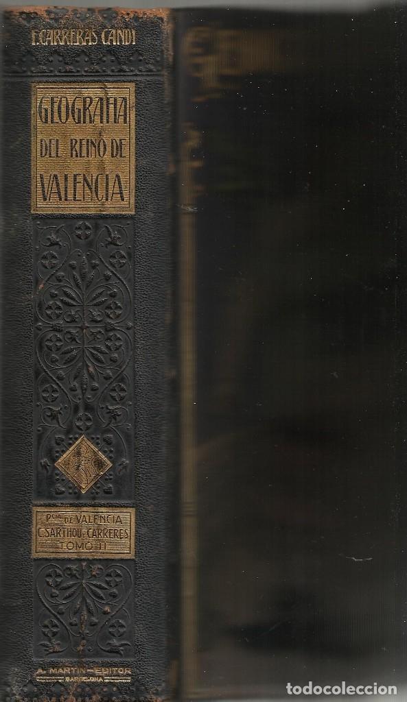 Libros antiguos: GEOGRAFIA GENERAL DEL REINO DE VALENCIA - TOMO II - Foto 2 - 173917658