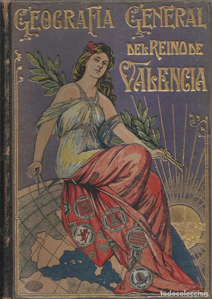Libros antiguos: GEOGRAFIA GENERAL DEL REINO DE VALENCIA - TOMO I - Foto 2 - 173917982