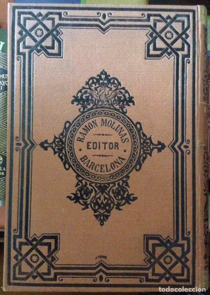 Libros antiguos: García Lasala, Manuel A través de la India. Diario de un viajero Ramón Molinas, Barcelona, 1890. 4º, - Foto 3 - 175108472